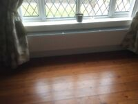 Double radiator 2M long by 30cm high ideal under a window, hardly used immaculate condition £60