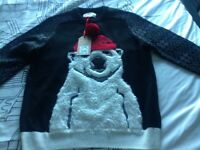 New Next Xmas Jumper. Size Med. £10