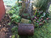 Lawn garden roller