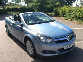 Vauxhall Astra Twintop Convertible low mileage 2007 *lovely car*