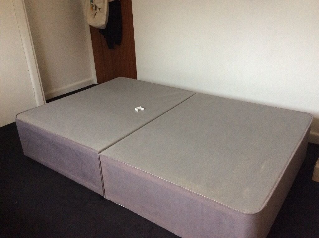 "FOR SALE - SMALL DOUBLE (3ft 6"") DIVAN BED BASE -"