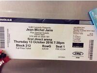 Jean -Michel Jarre 2 Tickets