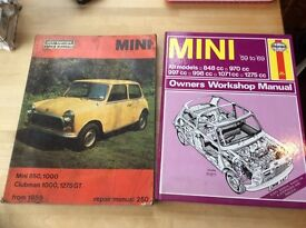 Mini repair manual and workshop manual