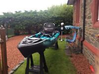 Jackson mayfly fishing kayak