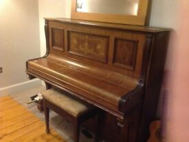 Antique upright piano £50