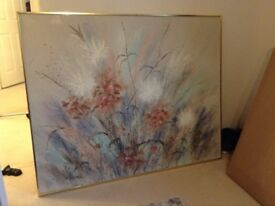 Painting. Oil Painting on Canvas. Original by Lee Reynolds. Excellent condition. 6ft by 5ft.