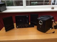 Wharfedale IS73ipod dock micro system