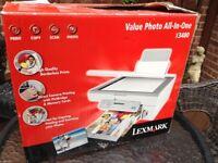Lexmark X3480 printer/scanner/photo printer