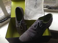 Men's grey suede Oliver Sweeney shoes in size 9