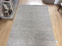 John Lewis designer rug by Catherine carnaby, grey , new