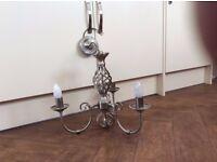 Three lamp Chandelier