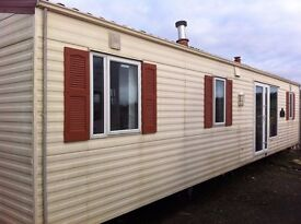 Willerby Villa 37x12 FREE DELIVERY 3 bedrooms 2 bathrooms double glazed tiled roof offsite static