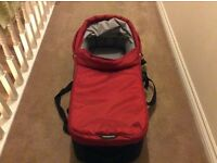 Red pram base for baby jogger city push chair