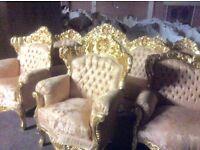 Gorgeous French style sofa set