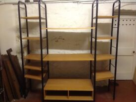 Shelf unit storage system / TV stand