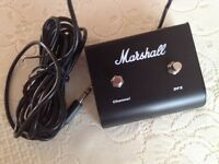 Marshall bass footswitch