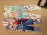 Girls bundle of PJs size 5-6