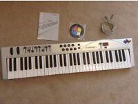 M-Audio Keystation 61 - USB Midi Controller Keyboard