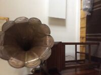 Vintage Columbia Gramophone with Accessories