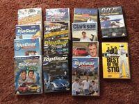 14 Top Gear/Jeremy Clarkson dvd's