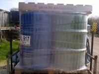 1 x 205 LITRE/45 GALLON STEEL DRUM/BARREL/CONTAINER/PLANTER
