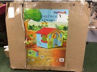 PalPlay Kids Large Outdoor Childs Playhouse Cottage New in Box
