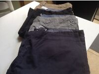 Men's jeans Chinos and shorts
