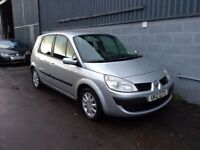 2007 Renault Scenic Expression 1.5Dci Only 94k 2 Keys Mot Oct 2018 £1650