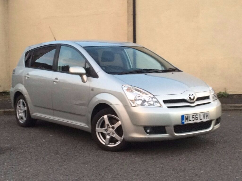 2006 toyota corolla verso tr 2 2 d 4d silver 7 seater mpv in bolton manchester gumtree. Black Bedroom Furniture Sets. Home Design Ideas