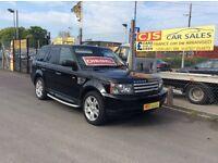 Range Rover sport 2.7v6 diesel 90000 full history mot Feb 18 fully serviced mint jeep black leather