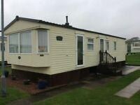6 Berth Residential Caravan for hire at the lovely Red Lion site Arbroath