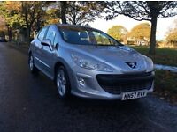 *2007*'57' *PEUGEOT 308 *1.6* VTI *SPORT * 62000 MILES* 5DOOR*F/S/H* M.O.T * IMMACULATE