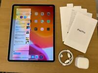Apple iPad Pro 12.9 inch 4th Generation 2020 512GB WiFi + Cellular Warranty May 2021 LTE Silver