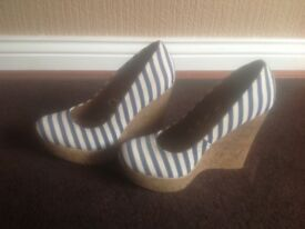 Boots & wedged shoes size 5