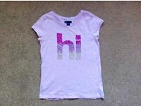 Girl's Gap sequin t-shirt, excellent condition. Age 12-13