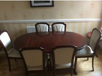 William Laurence Dining Table & 6 Chairs
