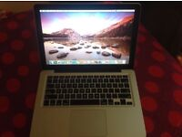 Macbook pro 13 inch i7 processor early 2011 model 500gb storage 4gb ram in very good condition