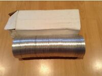 Laminated aluminium flexible ducting 10 metre x 125mm