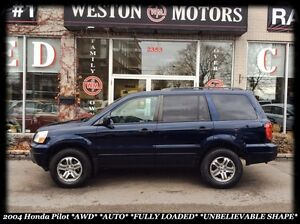 2004 Honda Pilot EX *AWD *AUTO *8PASS* UNBELIEVABLE SHAPE