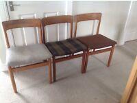 Retro vintage chairs.
