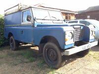 Land Rover Series 3 LWB (109') 'utility' body - 72,808 miles, 1st reg 1982