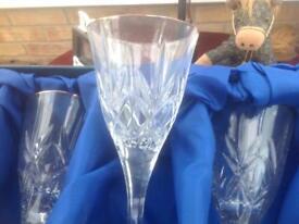 Crystal glass set