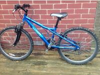 Boys bicycle, mountain bike style. Good condition