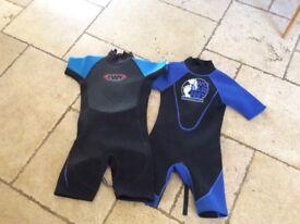 Kids wetsuit age 9/10
