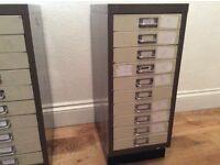 Used Bisley filling cabinet