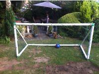 Heavy duty goal nets.