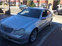 Mercedes Benz C class **C180 kompressor** 2.0 litre *quick sale*
