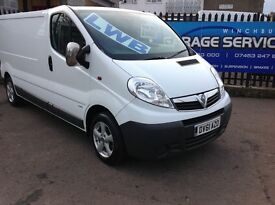 2011 VAUXHALL VIVARO YEARS MOT LOW MILES *FULL SERVICE HISTORY* EXCELLENT CONDITION PLY LINED ALLOYS