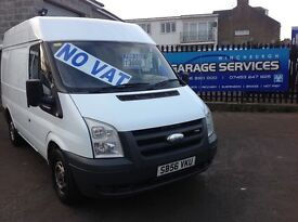 FORD TRANSIT MEDIUM ROOF EXCELLENT CONDITION LOW MILES NO VAT YEARS MOT FULLY SERVICED SPARE KEY!!!!