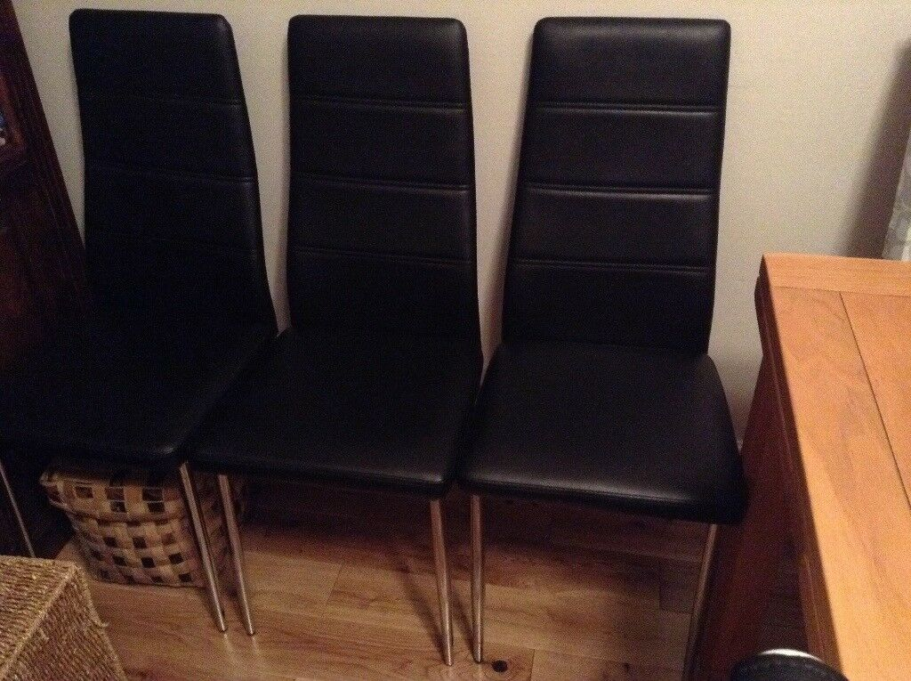 Dining/Kitchen Chairs x4